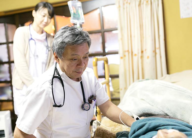医療と介護の連携で患者様の望む場所で望むときに